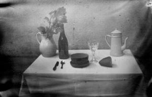 Table servie- reconstituée
