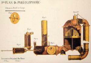 Premier plan du pyréolophore