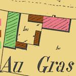 Cadastre complet du domaine du Gras à Saint-Loup-de-Varennes